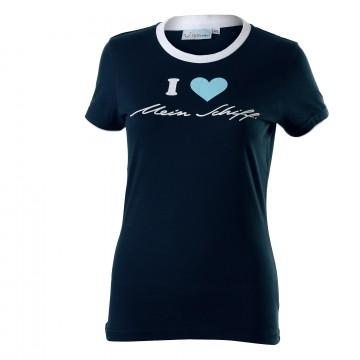I love Mein Schiff ® Damen T-Shirt Blau