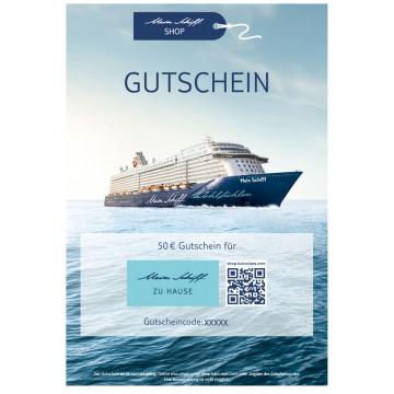 Gutscheine Mein Schiff 50€