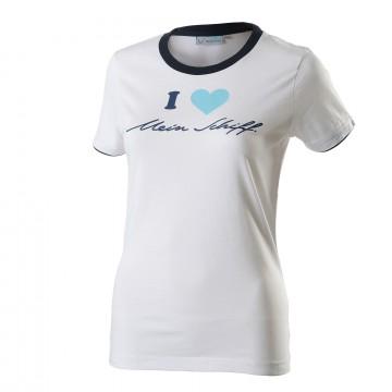I love Mein Schiff ® Damen T-Shirt Weiß