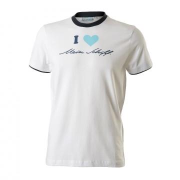 I love Mein Schiff ® Herren T-Shirt Weiß