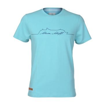Herren T-Shirt Türkis
